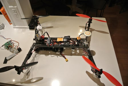 Pictures of Finished Copter