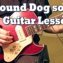 Hound Dog Guitar Solo #1 Lesson