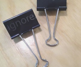 Binder Clips With Attitude