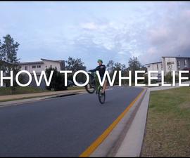 How to Wheelie
