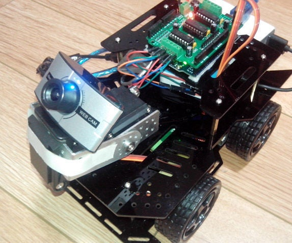 RC Wifi Car Robot Camera Using Arduino and OpenWRT