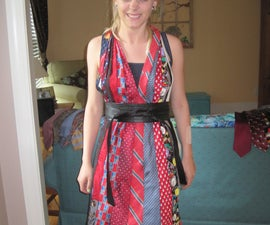 How to Make a Halter Dress out of Neck Ties