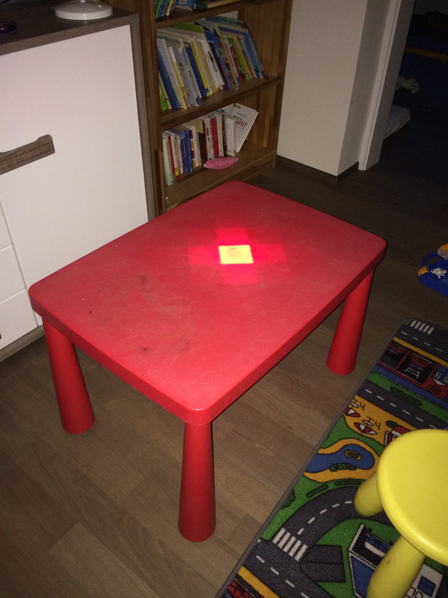 Picture of Glowing Kids Table IKEA