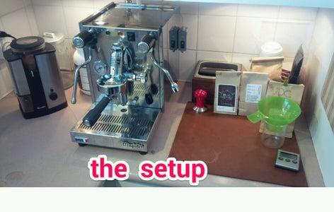 Espresso Machine Tank Fill Light