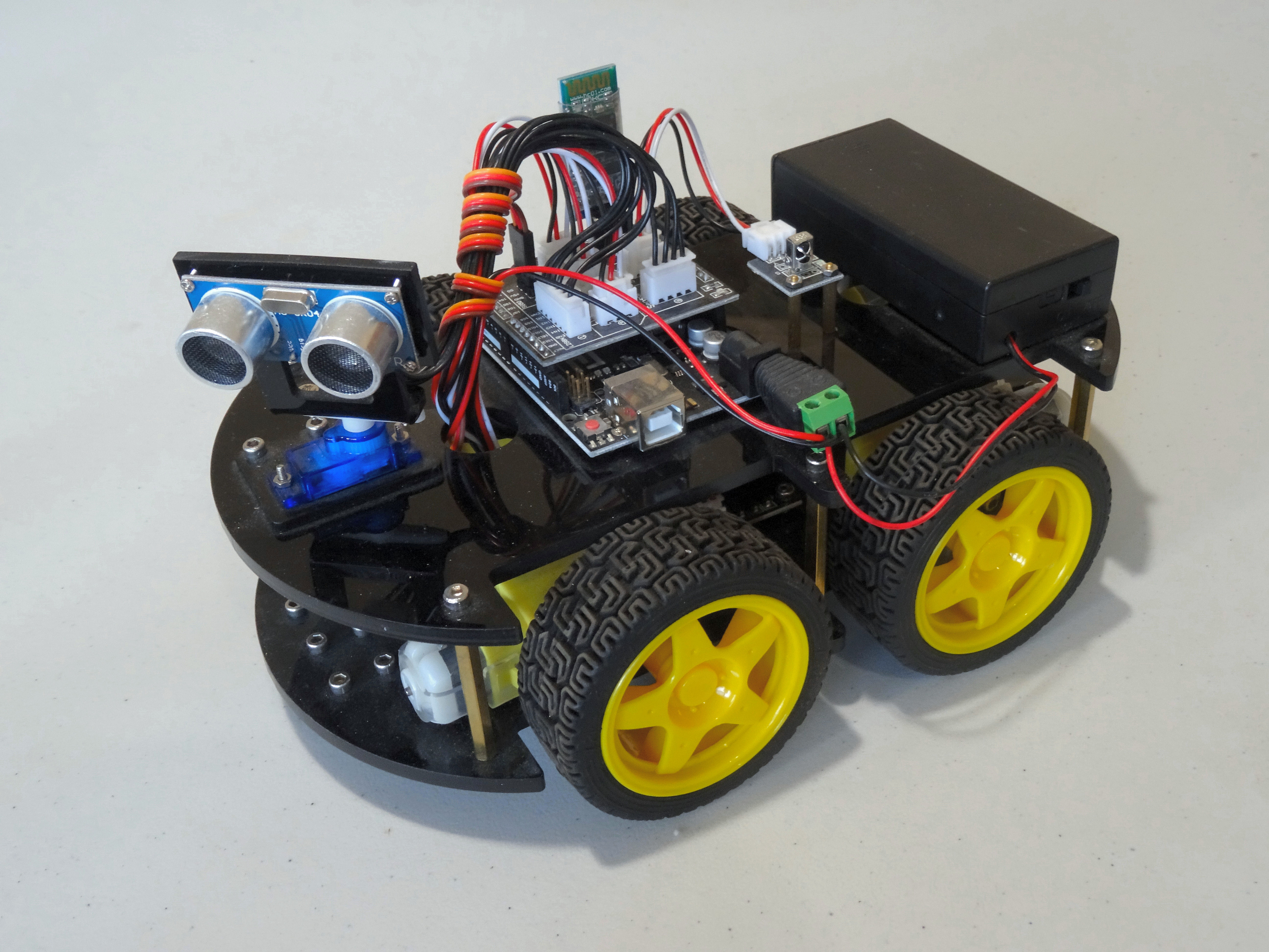 Picture of Assemble Elegoo Arduino Robot Version 2.0