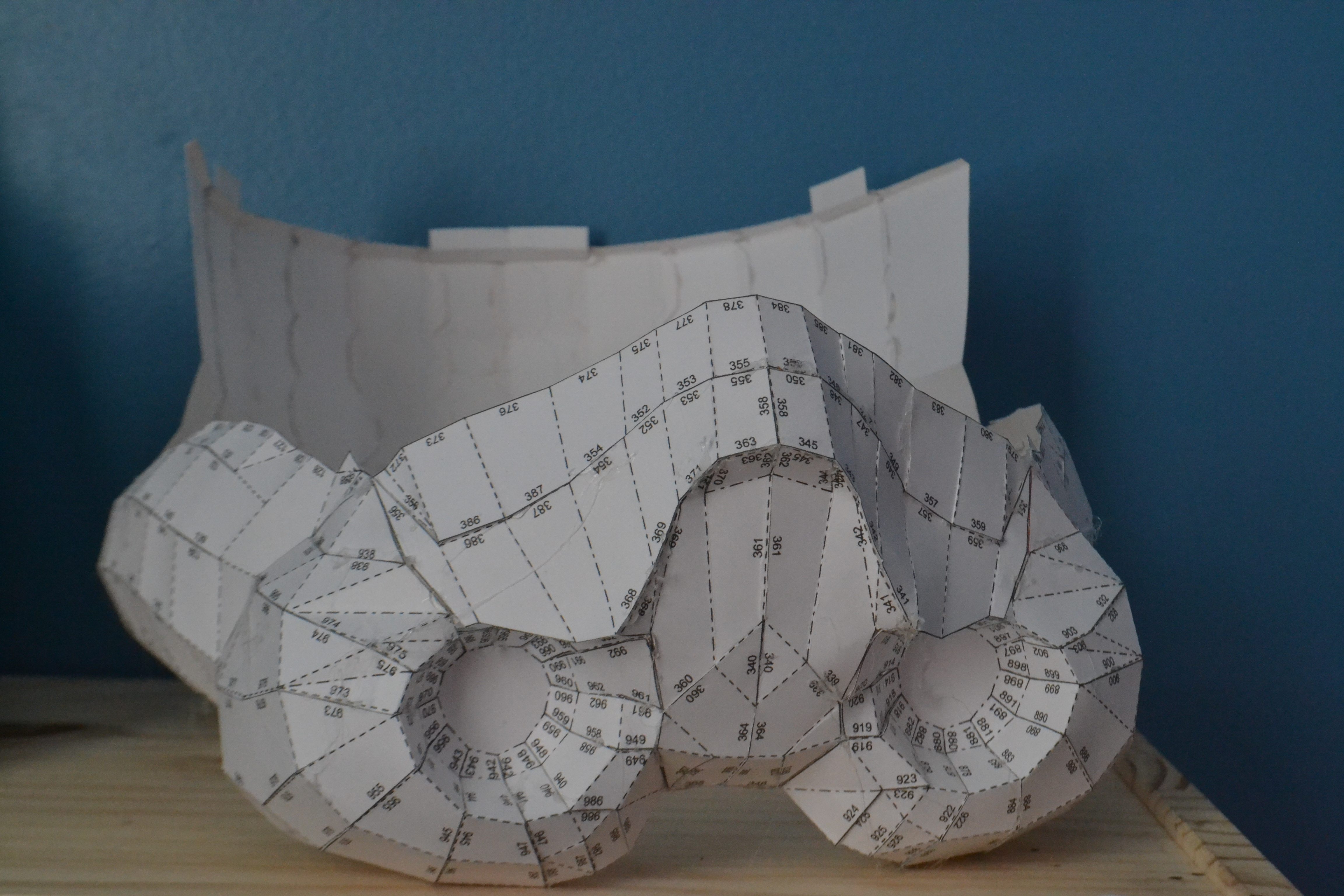 Picture of Cutting, Folding and Gluing
