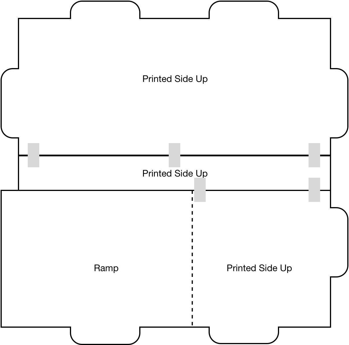 Picture of Floor (E) – Tape Floor Pieces in Place