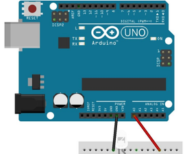 LED Self-control Light With Arduino