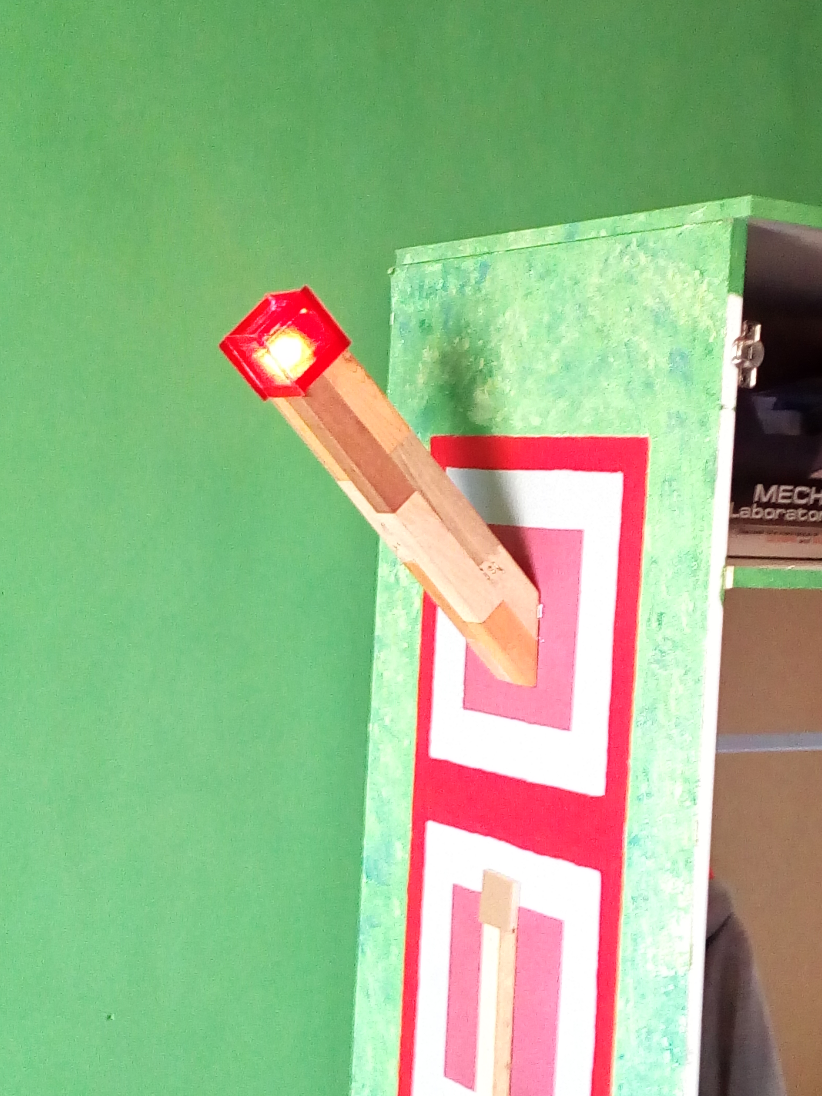 Picture of Portable Minecraft Torch