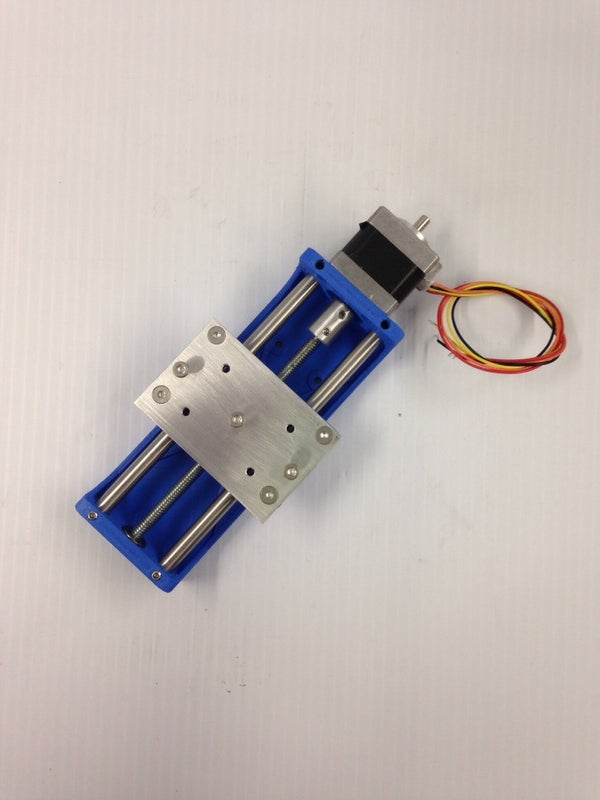 PRINTED CNC Z AXIS for ARDUINO Projects or Small Router, Printer.