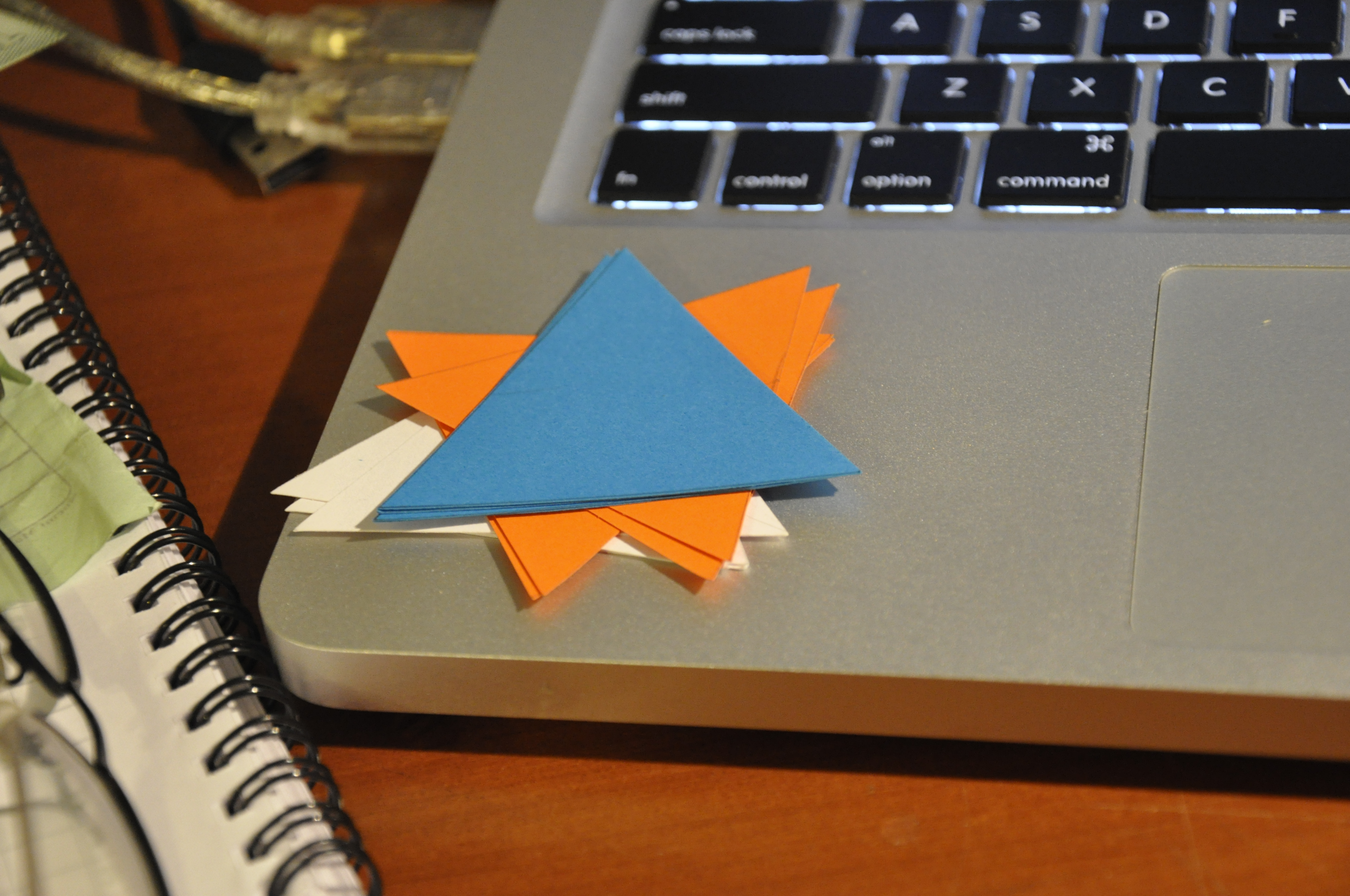 Picture of Making the Triangles