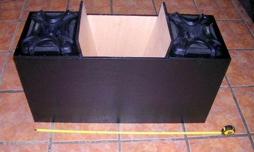 Car Speaker Box Using a 'Folded Horn' Design
