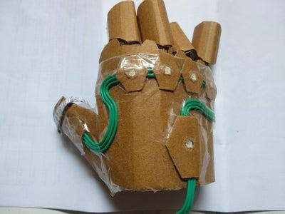 Design Your Gauntlet From Cardboard