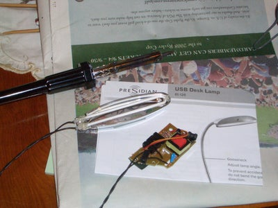 Re-attach the Light Tube to the Circuit Board