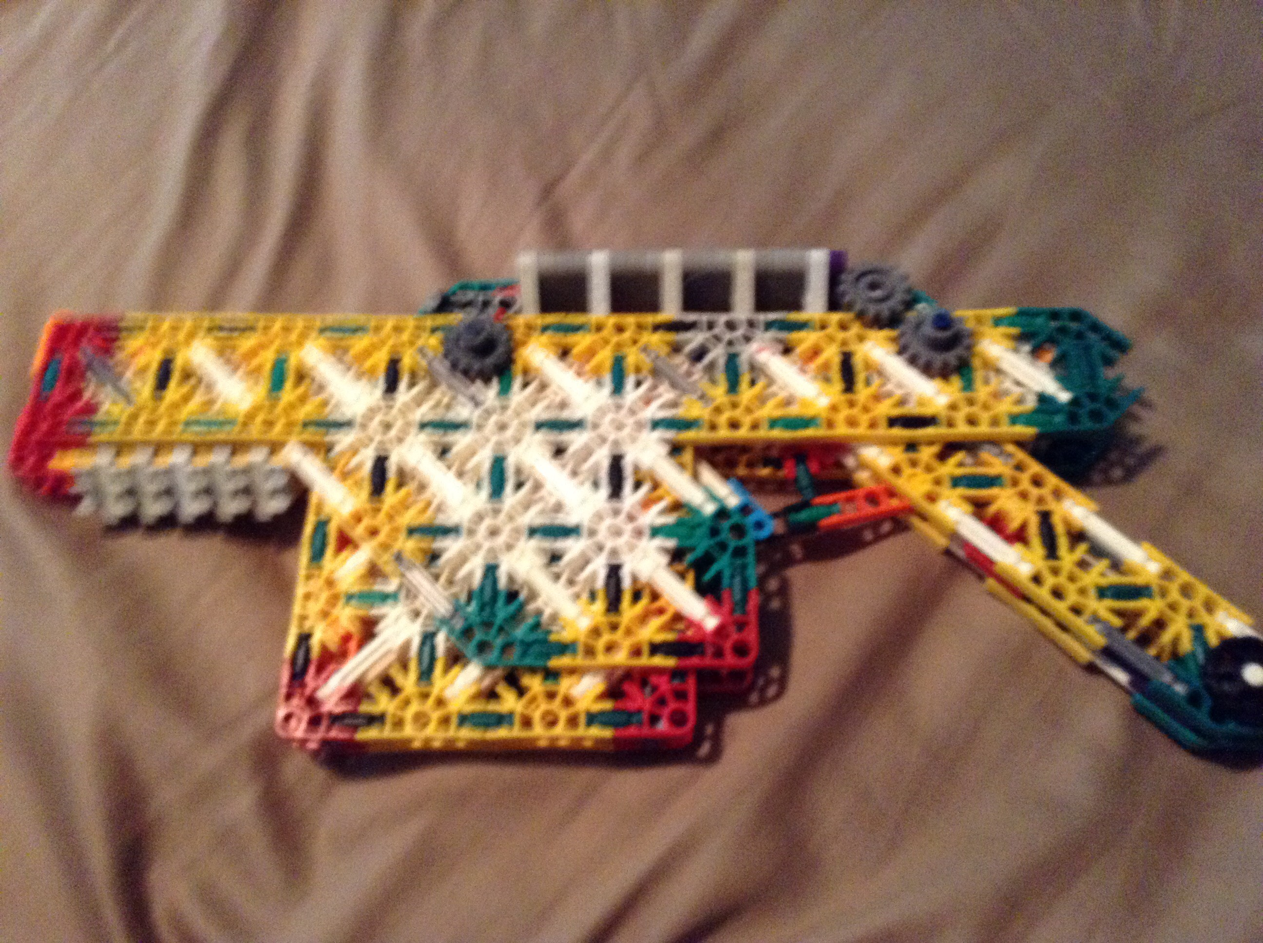 Picture of The Knex War Pistol (I Just Forgot the Name Lol)