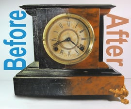 Antique Mantel Clock Resto-Mod
