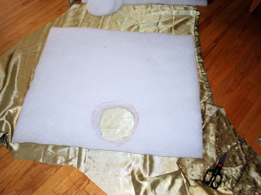 Picture of Prepping the Padding