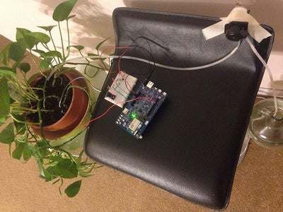 Adding a Pump to Automatically Water the Plant
