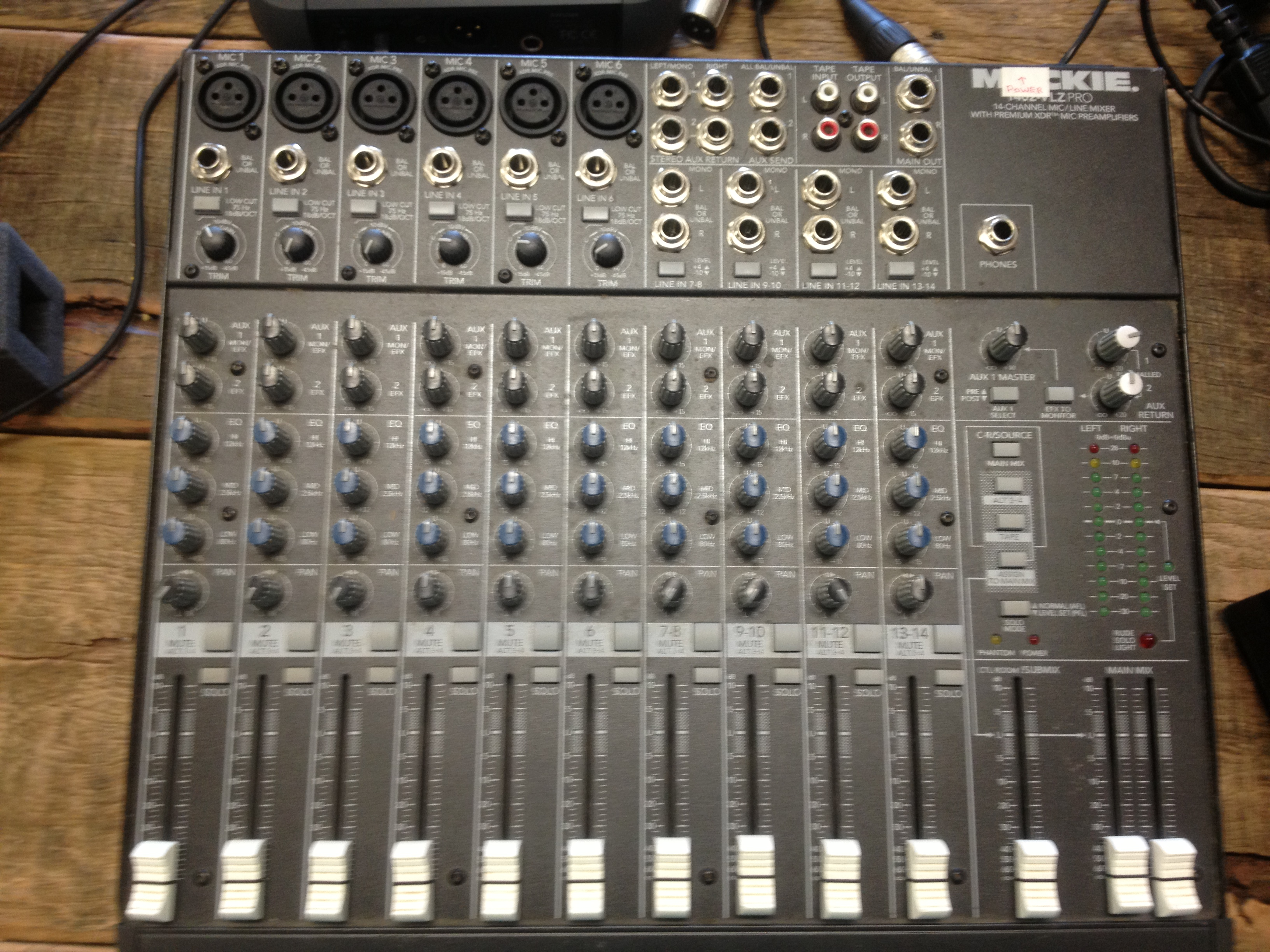 Picture of Mixing Console