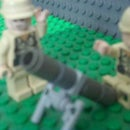 how to make a lego wwii mortar