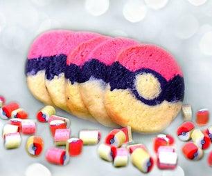 Pokéball Log Sugar Cookies
