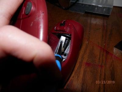 Remove the Pencil Sharpener Blade