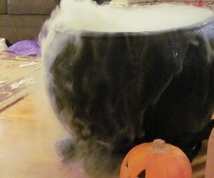 Full Size Haunted Cauldron