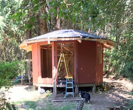 Building a Wood-Framed Panelized Yurt