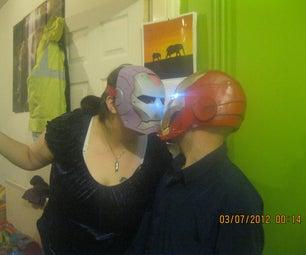Female Iron Man Helmet