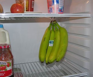 BANANA HANGER (a Way to Conserve More Time  Fresh Bananas)