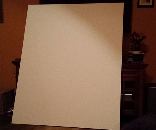 Making a Paper Canvas!