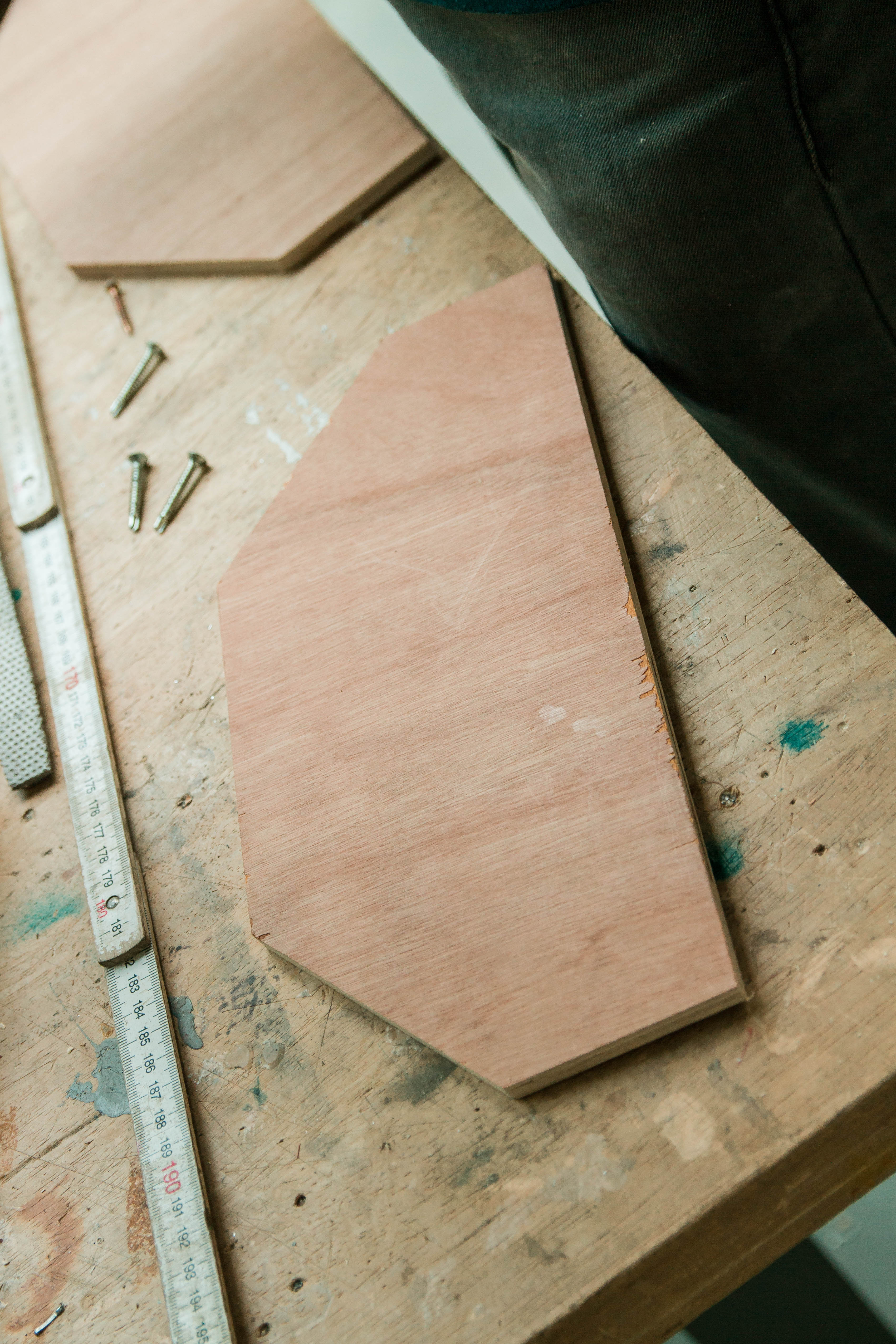 Picture of Cutting Parts - Plank One and Two.