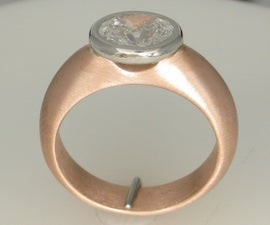 Creating a two tone engagement ring