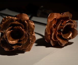 Copper Rose - Perfect for Valentines Day!
