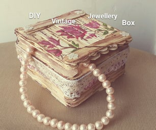 DIY Vintage Jewellery Box