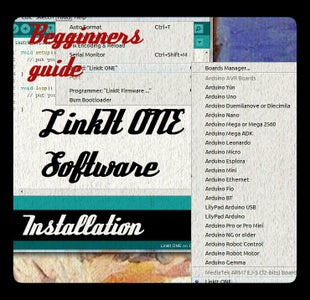 LinkIt ONE Installation Guide for Windows