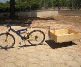 Heavy loads Bike Trailer
