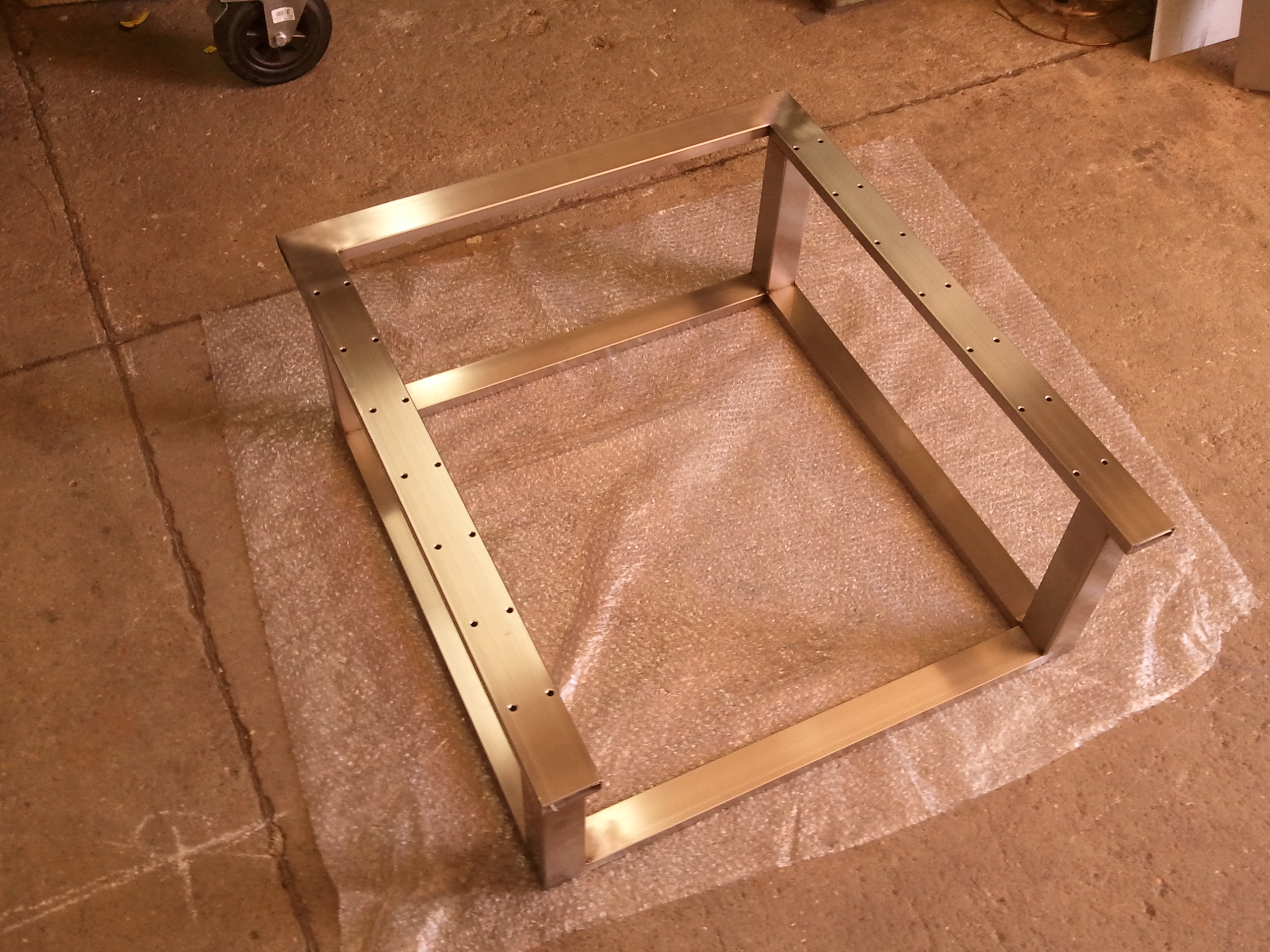 Picture of The BuildersBot Stainless Steel Frame