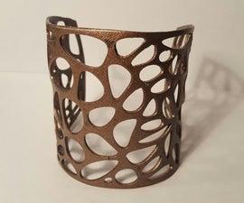 3D Printed Voronoi Cuff
