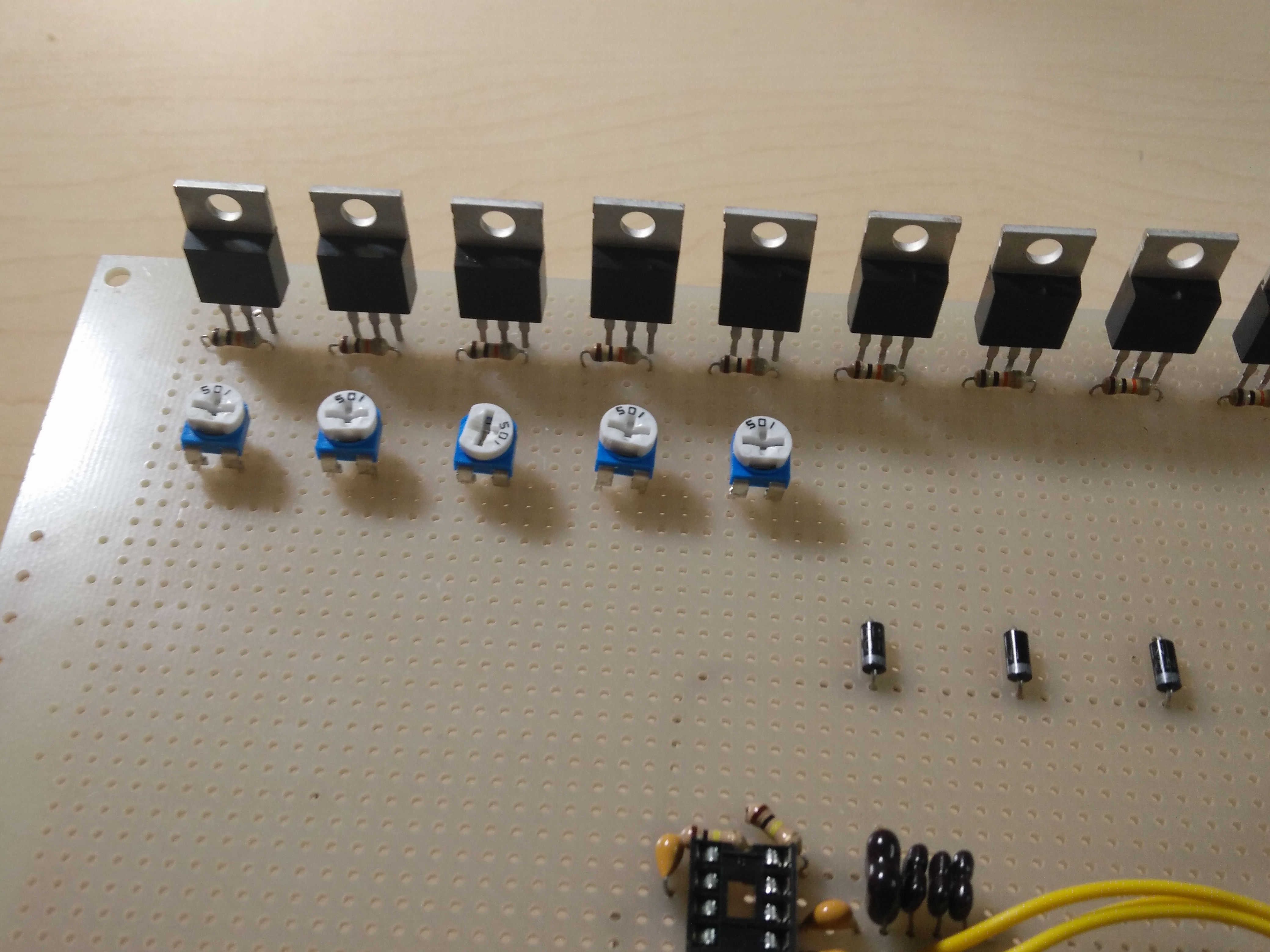 Picture of Adding Panel Jack and Bluetooth and Potentiometers