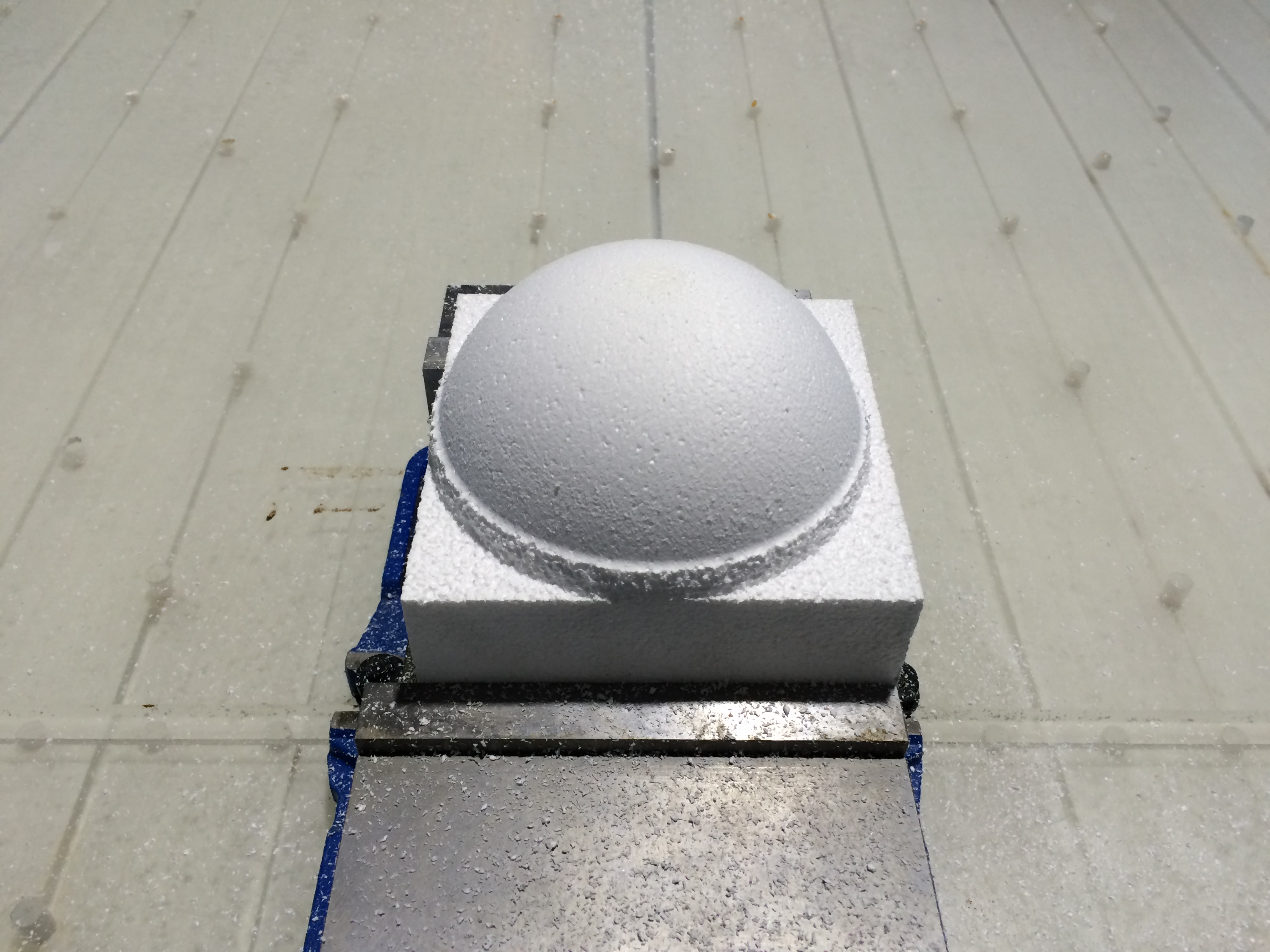 Picture of Cut Fixture Material (optional)