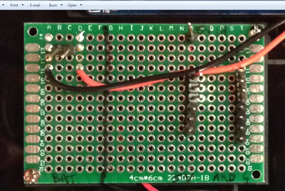 Picture of Power Distribution Board