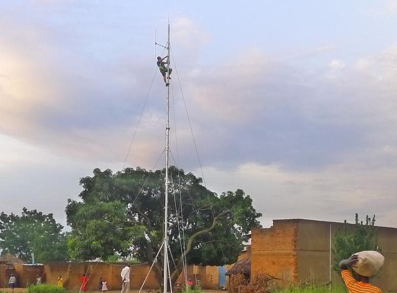 Picture of Low Power FM Transmitter Antenna From Agricultural Tubing