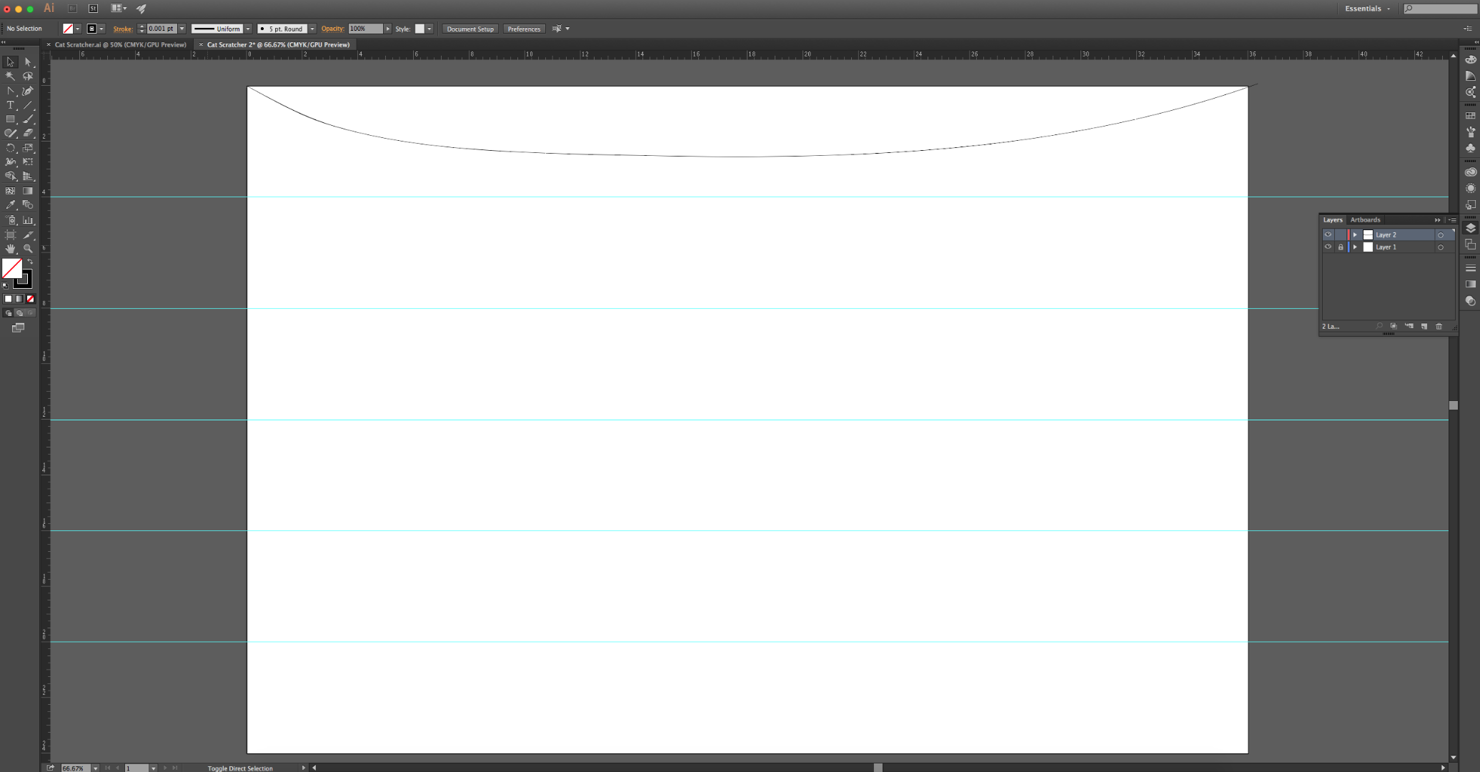 Picture of Create the Shape You'd Like in Adobe Illustrator