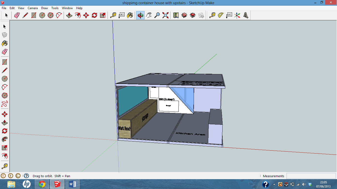 Picture of Shipping Container House Model