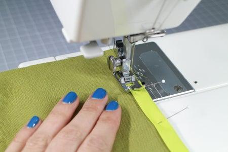 Sew on the Binding