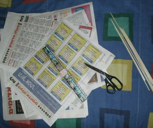 15 minutes Newspaper kite that really flies!
