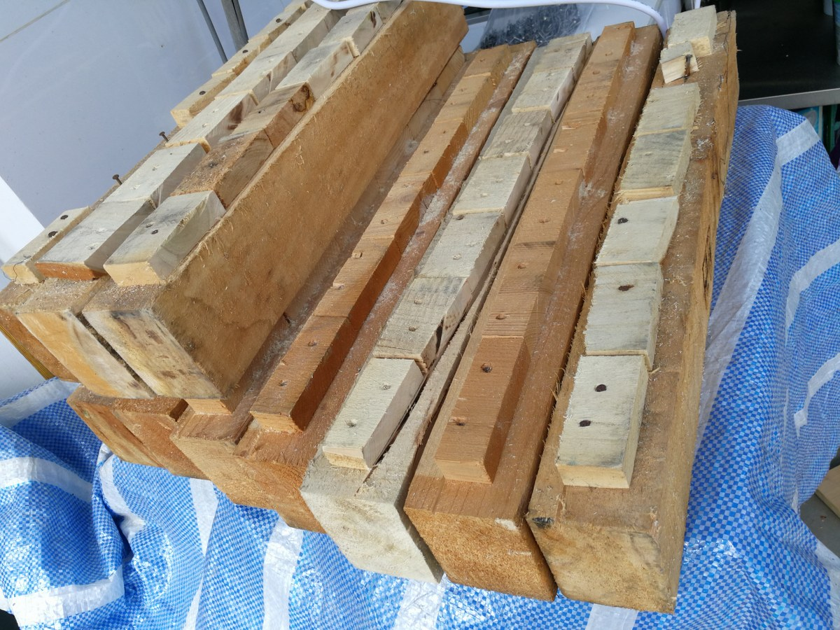 Picture of Reclaimed Pallet Stools