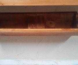 Game Controller Rack AKA The Third Shelf
