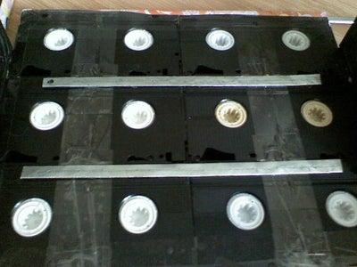 Add the Aluminium Bars